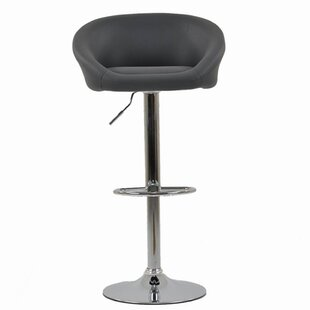Height Adjustable Swivel Bar Stool By 17 Stories