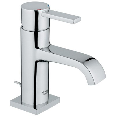 grohe allure single handle single hole bathroom faucet & reviews