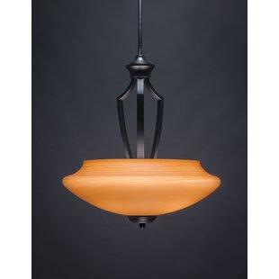 Red Barrel Studio Couto 1-Light Bowl Pendant