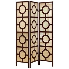 71 x 52 Frame 3 Panel Room Divider by Monarch Specialties Inc.