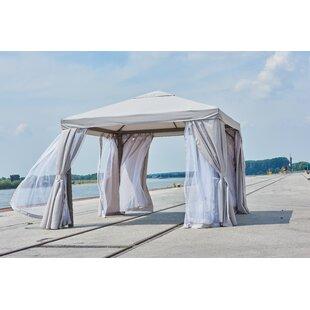Coldiron 3m X 3m Metal Patio Gazebo By Beachcrest Home