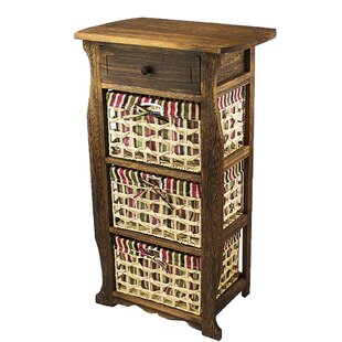 Online Reviews Long Ashton Wood Storage 1 Drawer Nightstand by Millwood Pines