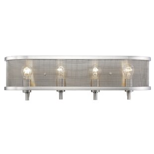 Laurel Foundry Modern Farmhouse Tensed 4-Light Bath Bar