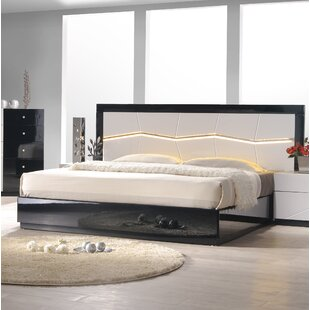 Astaire Upholstered Platform Bed by Orren Ellis No Copoun