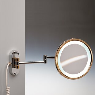 Reviews Wall Mounted Round Magnifying Mirror ByWindisch by Nameeks