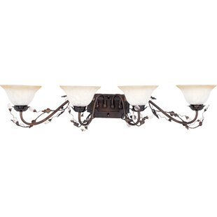 Shopping for Alfina 4-Light Vanity Light By Bungalow Rose