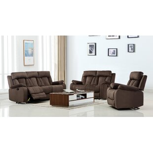 Troxler Reclining 3 Piece Living Room Set..