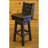 Bechtold Swivel Bar & Counter Stool by Millwood Pines