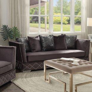 Lund Velveteen Sofa