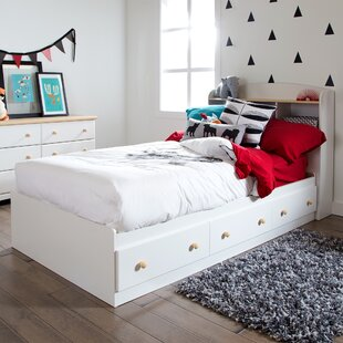 Summertime Twin Mate's & Captain's Bed with Drawers by South Shore