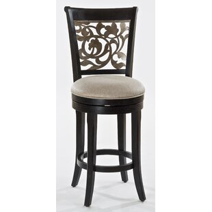 Chuckanut 26 Swivel Bar Stool Fleur De Lis Living