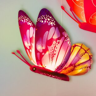 Kreativ Lighting Buddylitez Butterflies 1-Light Novelty Pendant