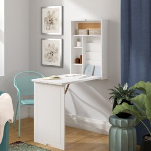 Andersonville Floating Desk by Zipcode Design Today Only Sale