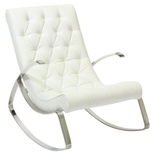 Pittsfield Tufted Rocking Chair by Orren Ellis