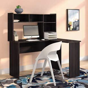 Oklee L-Shape Executive Desk with Hutch
