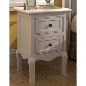2 Drawer Bedside Table (Set of 2)