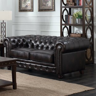 Caine Chesterfield Loveseat