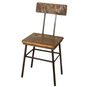 Industrial Solid Wood Dining Chair by Napa East Collection