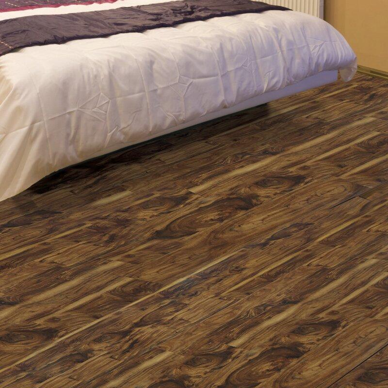 AllAmericanHardwood Exotic 5 5.25 x 64 x 12mm Acacia Laminate Flooring  Finish: Chai