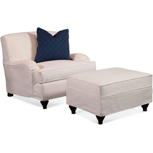 Braxton Culler Crown Estate Armchair with Slipcover