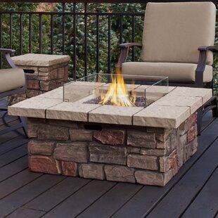 Real Flame Sedona Concrete Propane/Natura..