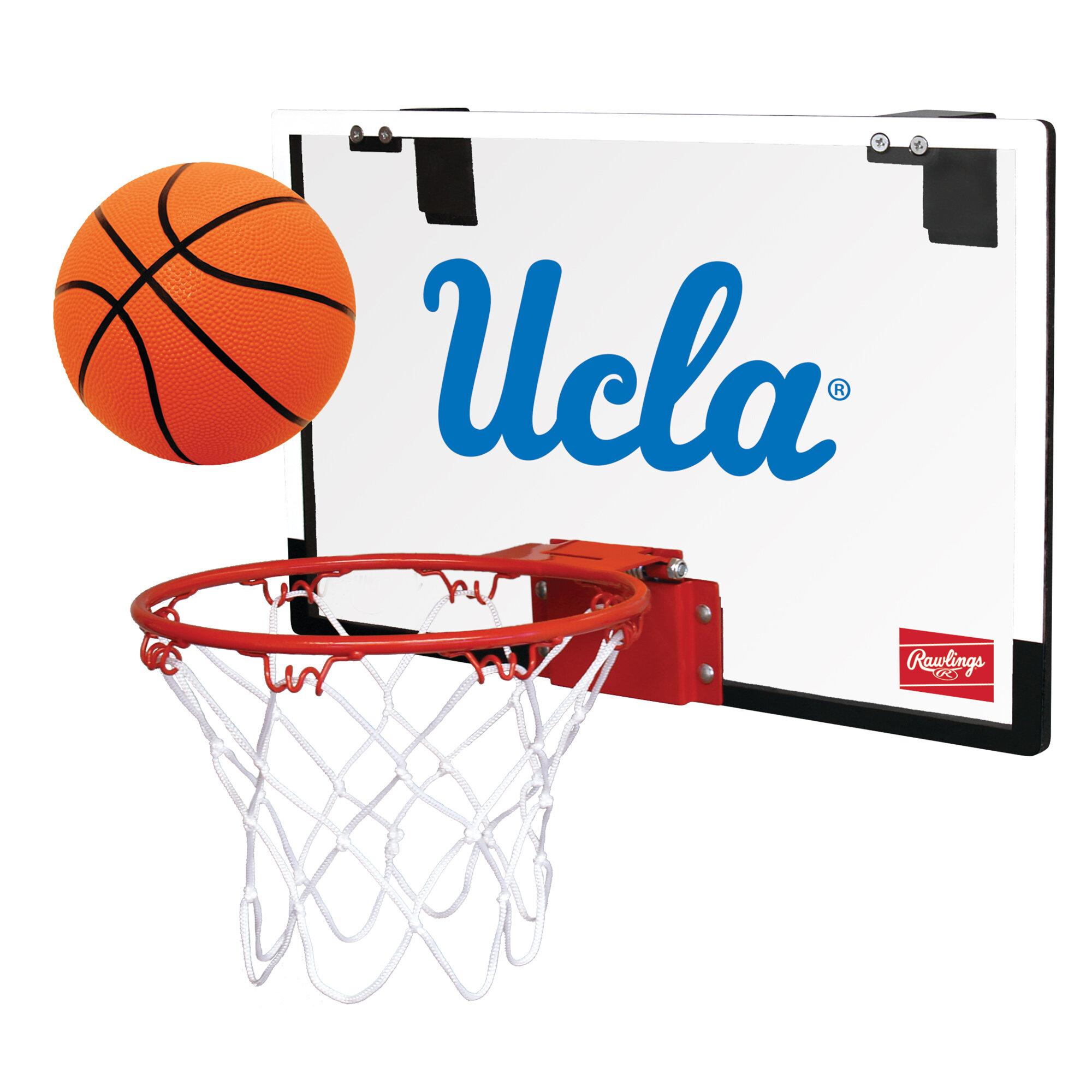 Rawlings Ncaa Game On Basketball Hoop Set Reviews Wayfair