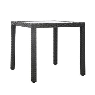 Riceboro Backyard Resin Wicker Dining Table