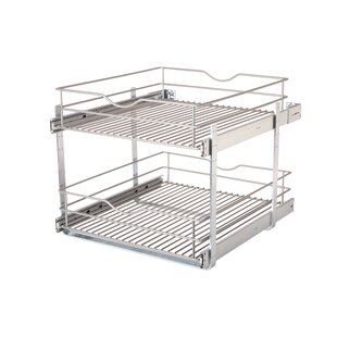 Hancock Double Tier Multi-Use Basket by Rebrilliant Today Sale Only