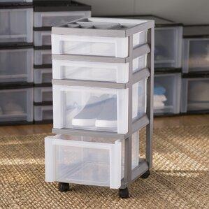Delightful Wayfair Basics 4 Drawer Storage Chest