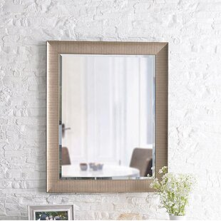 Price Check Alba Wall Accent Mirror By Orren Ellis