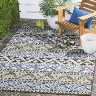 Rangely Blue/Green Indoor/Outdoor Area Rug