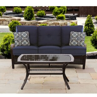 Luisa 2 Piece Sofa Seating Group with Cushions by Longshore Tides