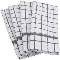 Grey Kitchen Towels Up To 65 Off Until 11 20 Wayfair Wayfair