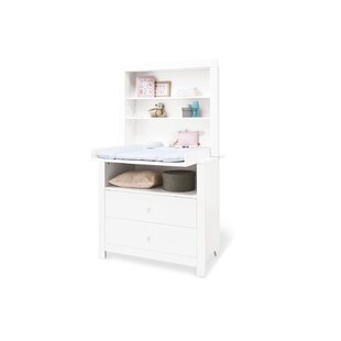 Wide Shelf Attachment Changing Table By Pinolino