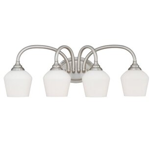 Best Reviews Grafton 4-Light Vanity Light By Vaxcel