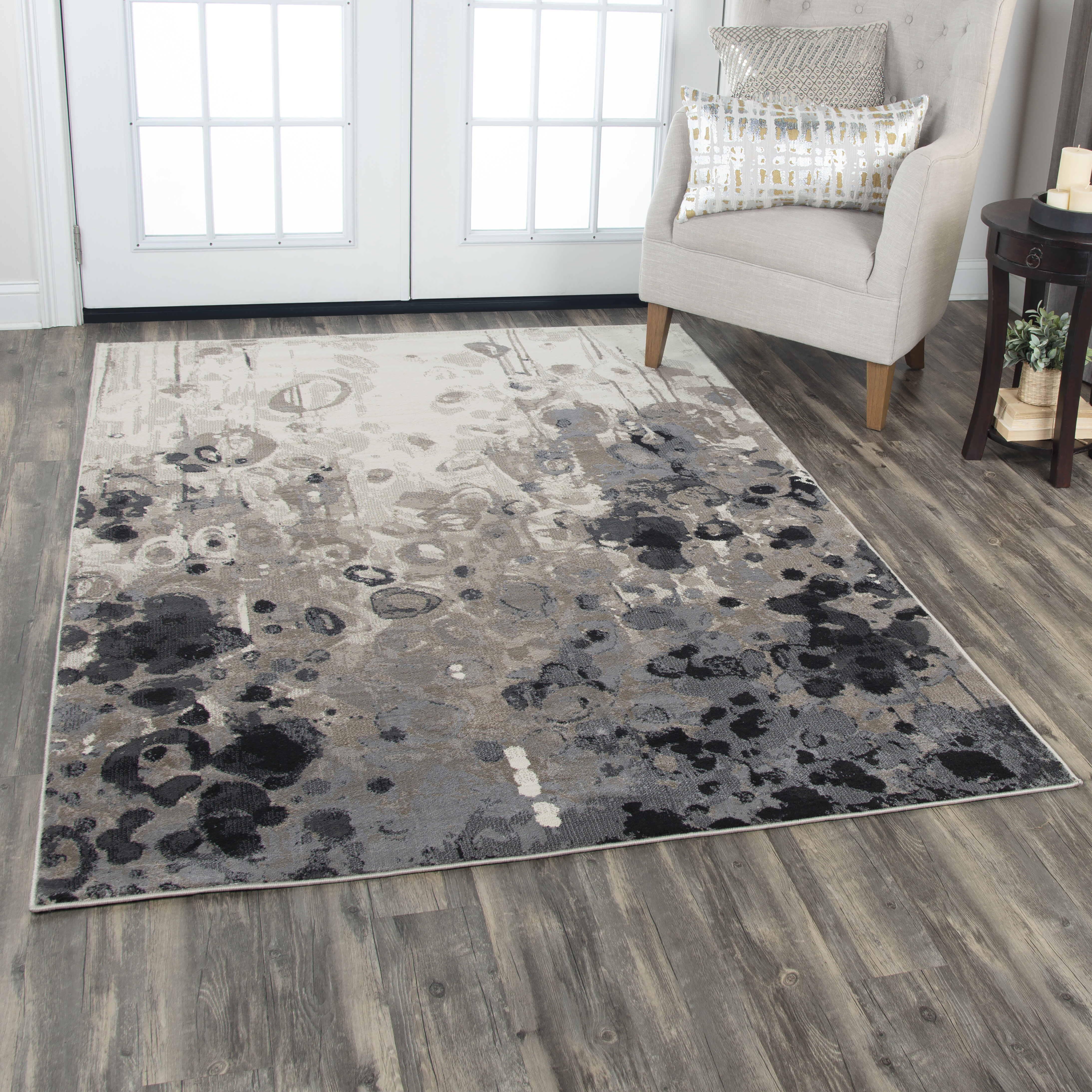 Williston Forge Everything Old Is New Again Gray Beige Rug Wayfair