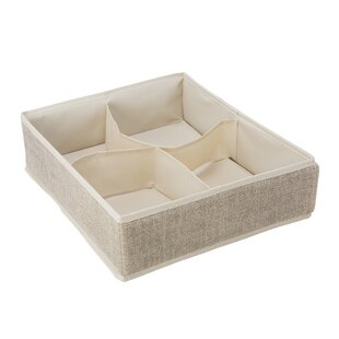 4 Compartment Drawer Organizer