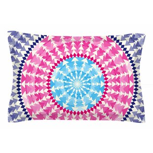 Famenxt 'Mandala Pink Blue' Illustration Sham