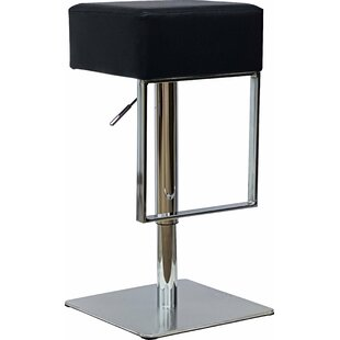 Wisconsin Height Adjustable Bar Stool By Metro Lane