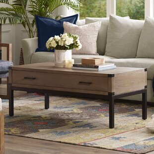 Fraser Coffee Table with Storage by Harbor House