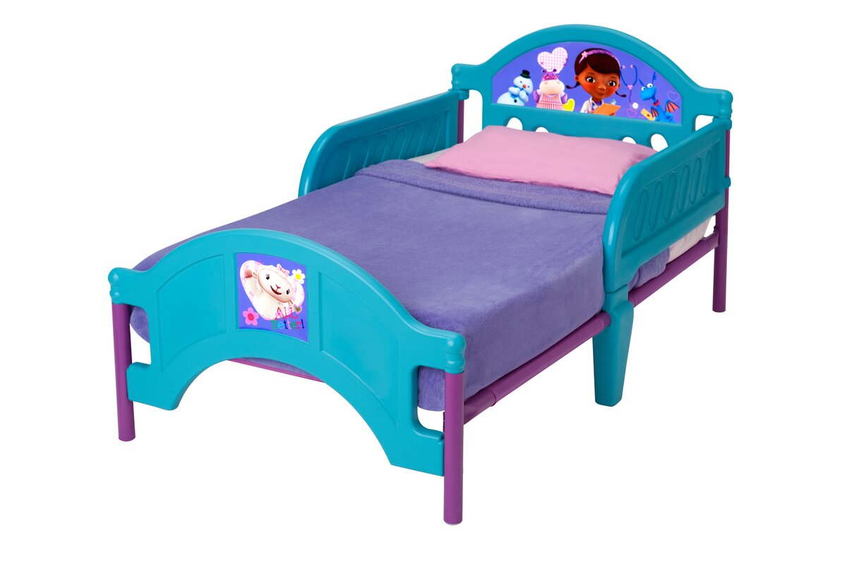 Disney Doc McStuffins Convertible Toddler Bed  sc 1 st  Wayfair & Delta Children Disney Doc McStuffins Convertible Toddler Bed ...