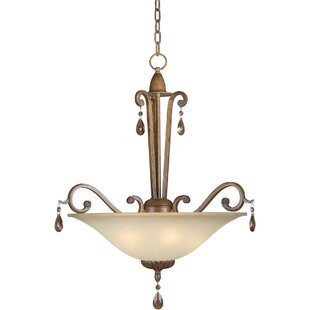 Fleur De Lis Living Boulton 4-Light Bowl Pendant