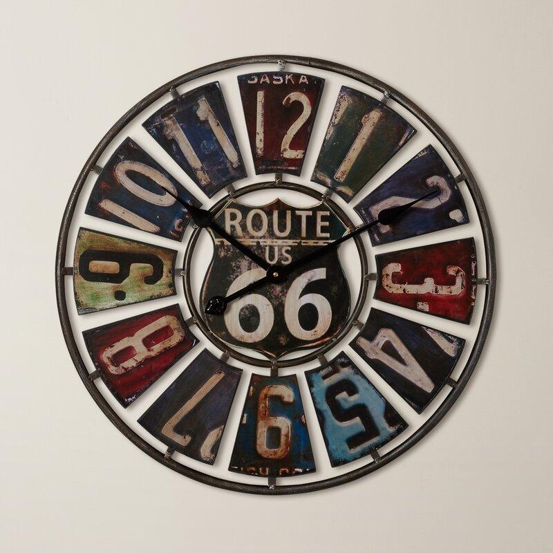 Trent Austin Design Hazelwood 22 75 Quot Wall Clock Amp Reviews