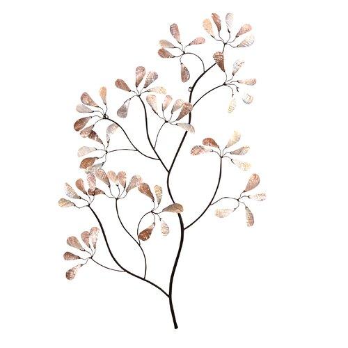 Wanddekoration Zweig | Dekoration > Wandtattoos | Naturbelassen/schwarz/beige | Metall | Home & Haus