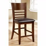 Carlinville Upholstered Ladder Back Dining Chair (Set of 2) by Alcott Hill®
