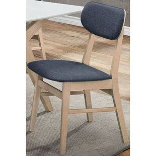 Macedonia Upholstered Dining Chair (Set of 2) by Wrought Studio