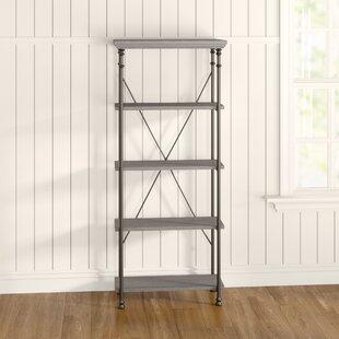Capehart 4 Shelf Bookcase By Williston Forge