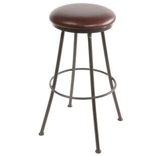 Order Travis Heights 25 Swivel Bar Stool by Millwood Pines Reviews (2019) & Buyer's Guide