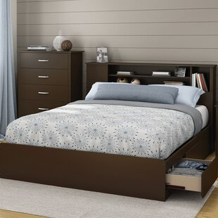 Fusion 40.25in Tall Queen Platform Bed by South Shore