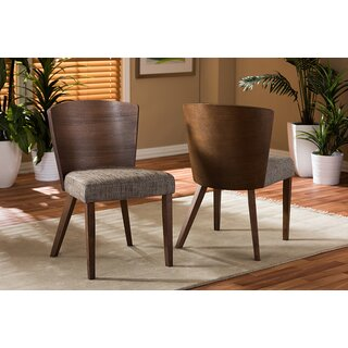 "Jody ""Gravel"" Dining Chair (Set of 2) by Brayden Studio SKU:DD210109 Buy"